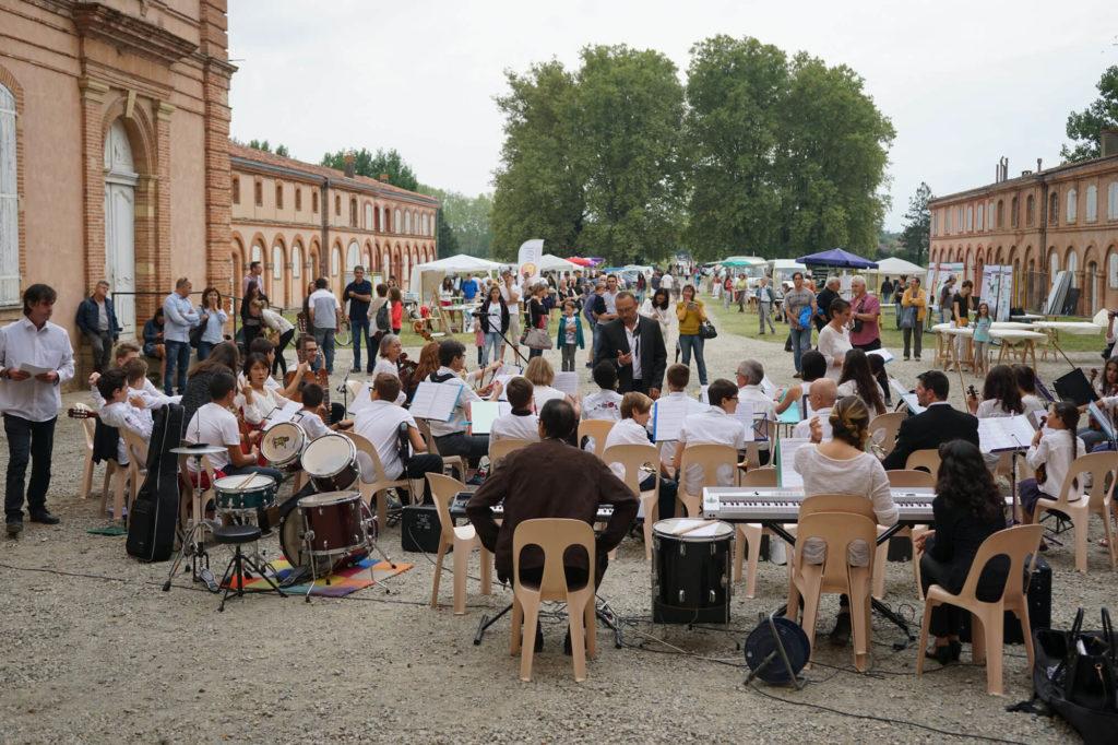 Fête Château des Confluences instruments de musique