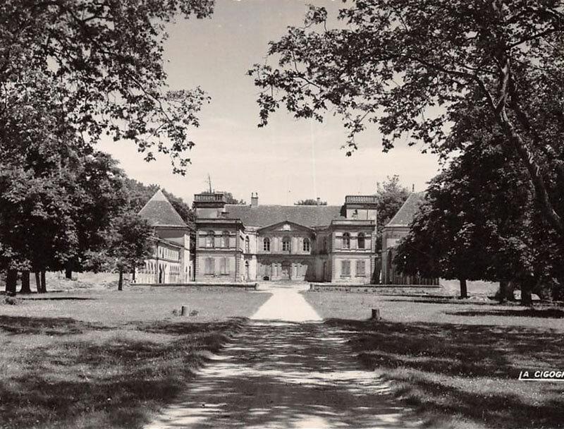 Vieille photo Château des Confluences