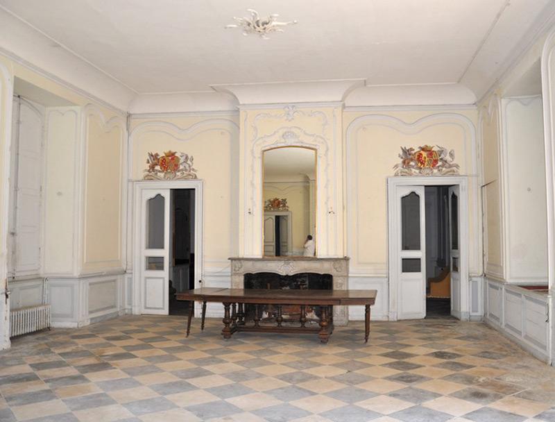 Photo portes blasons Château des Confluences