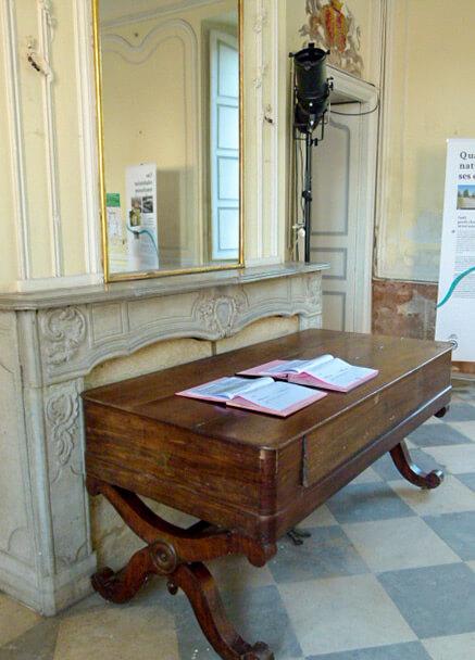 Photo table Château des Confluences